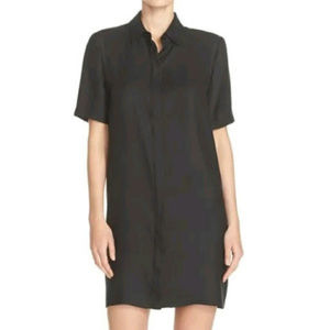 CHARLES HENRY SEERSUCKER SHIRTDRESS STRIPE DRESS